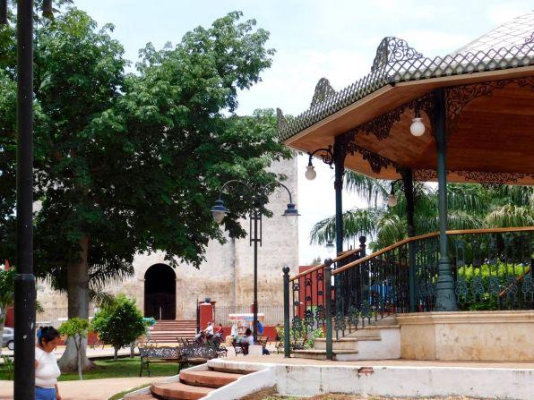 Tizimin, ville du nord du Yucatán, au Mexique