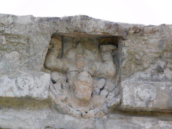 "Le ""dieu plongeur"" du culte maya à Tulum"