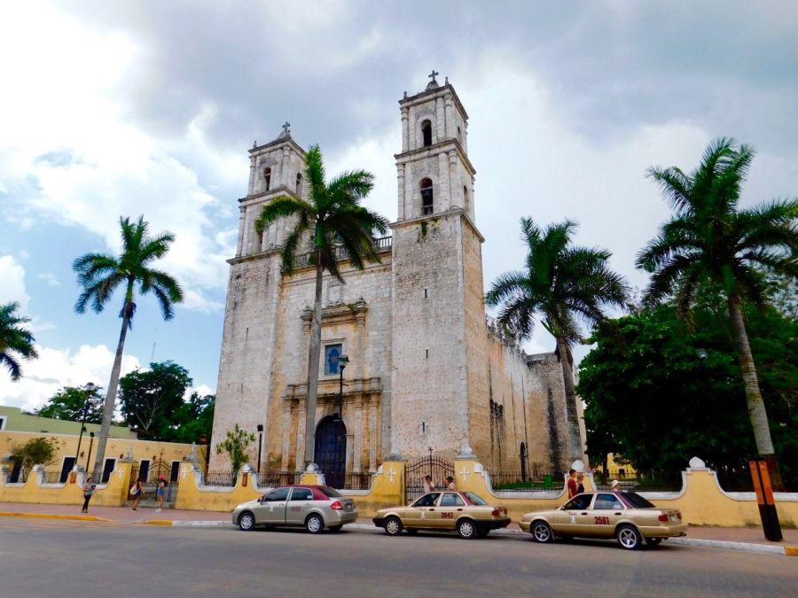 Cathédrale de Valladolid (Yucatan / Mexique)