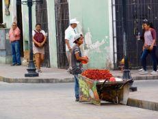 Centre ville de Valladolid dans le Yucatan