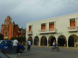 Eglise de Temozon au Mexique