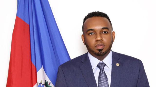 Stéphane Gilles, consul général de Haïti à Miami