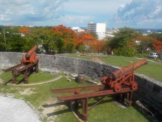 Bahamas New Providence Nassau Fort Fincastle