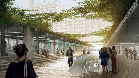 Miami : un quartier sur pilotis géants en projet à Allapattah, le Miami Produce Center