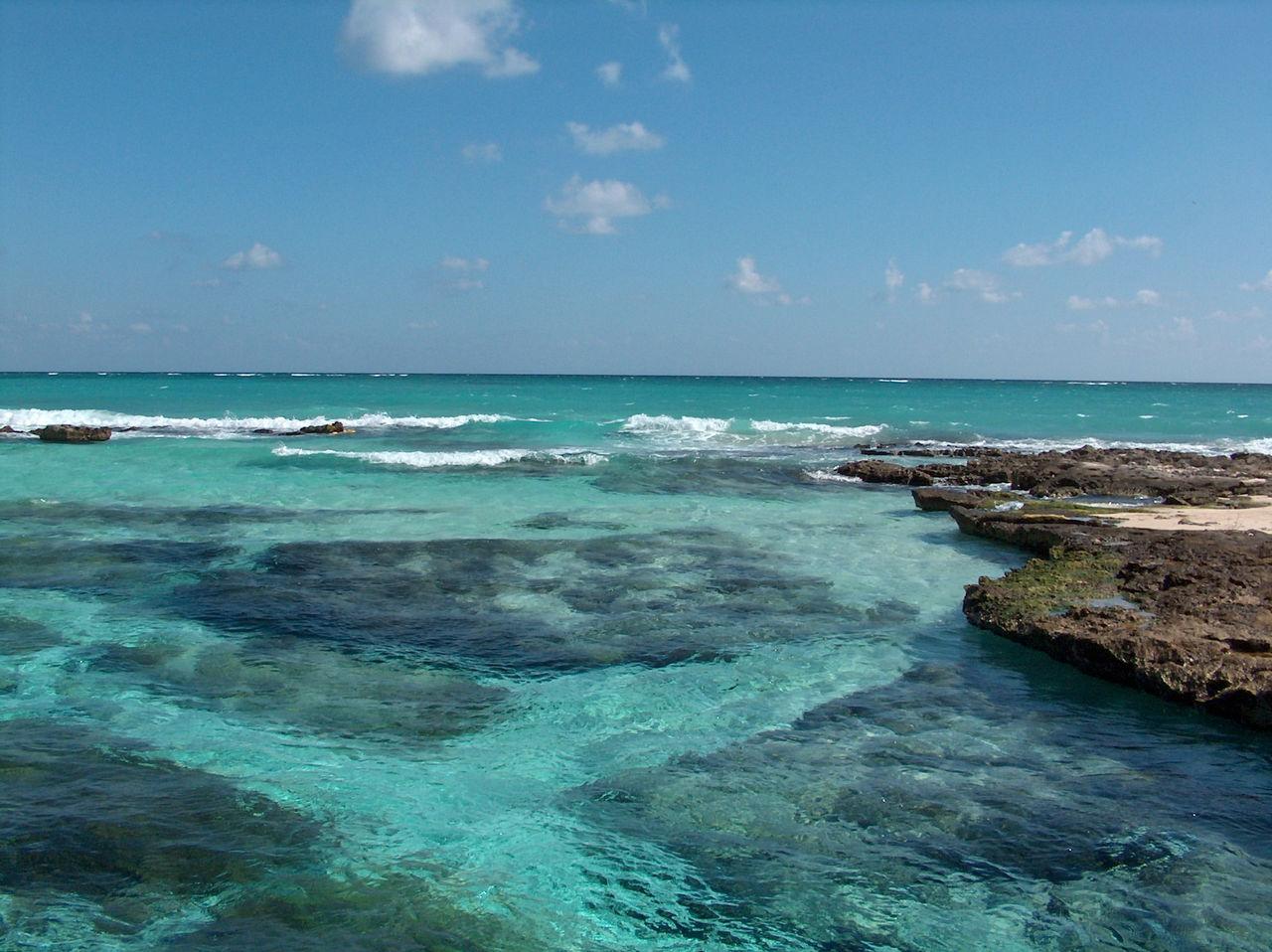 Resultado de imagen para caleta tankah quintana roo |7 playas perfectas y poco conocidas para viajar en verano