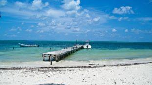 Plage à Punta Allen