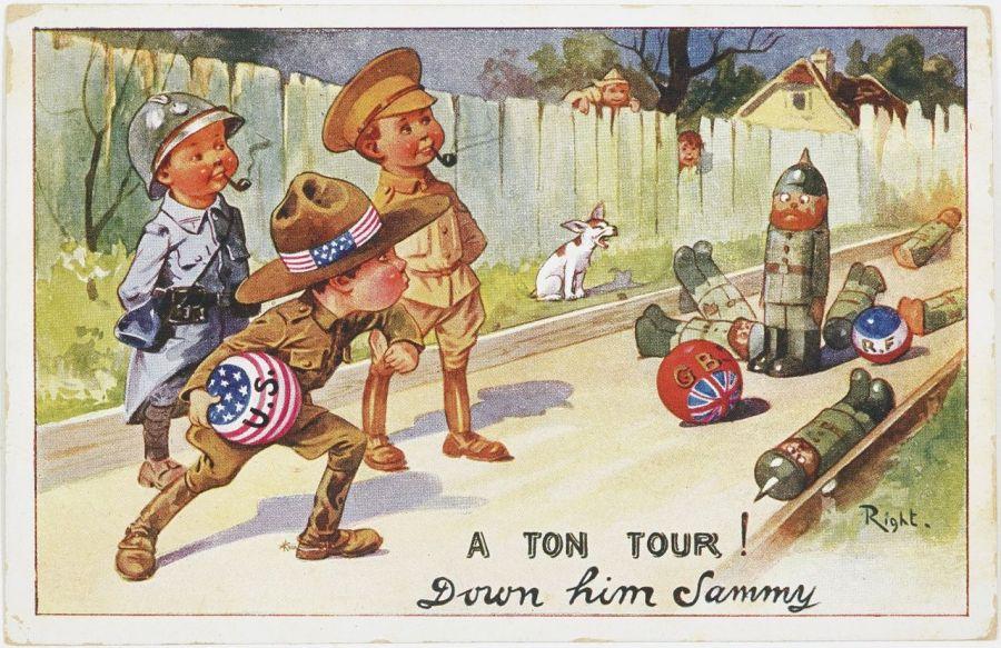 Exposition La Satire et la Grande Guerre à Miami Beach