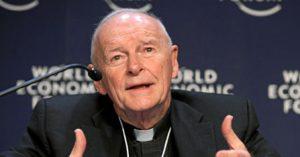 Le cardinal Theodore McCarrick