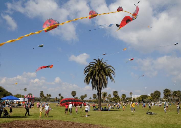 Haulover Park Kitetober Kite Festival Miami
