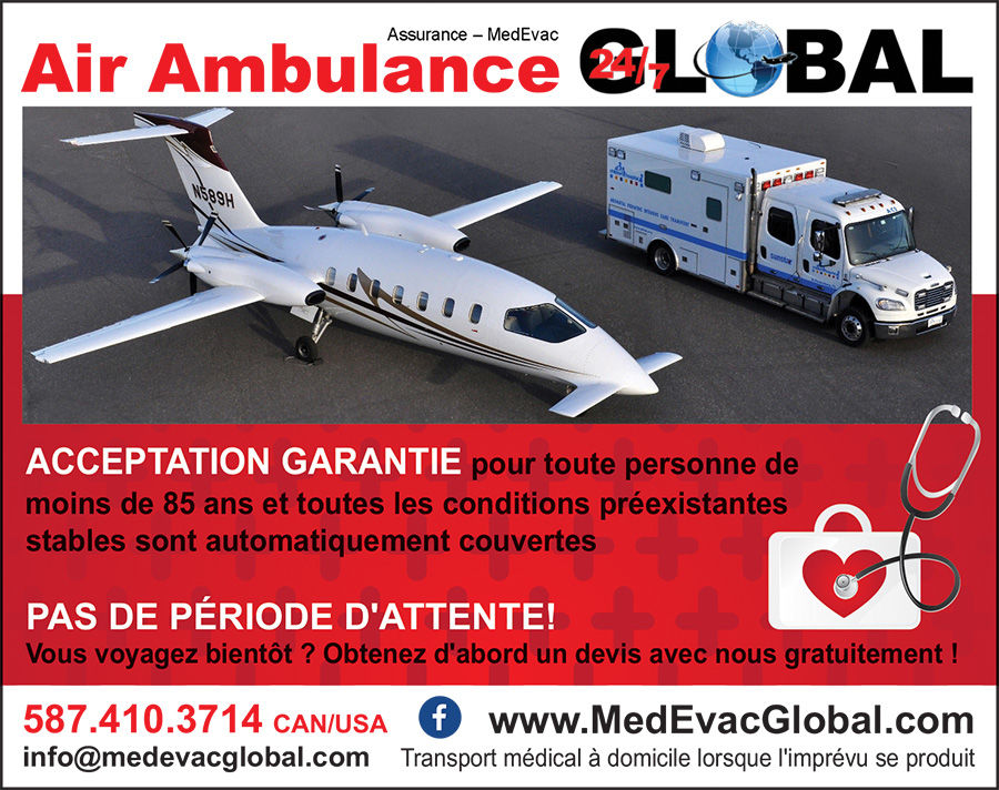 Air ambulance Medevac Global
