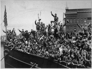 Le départ pour l'Europe et la Grande Guerre