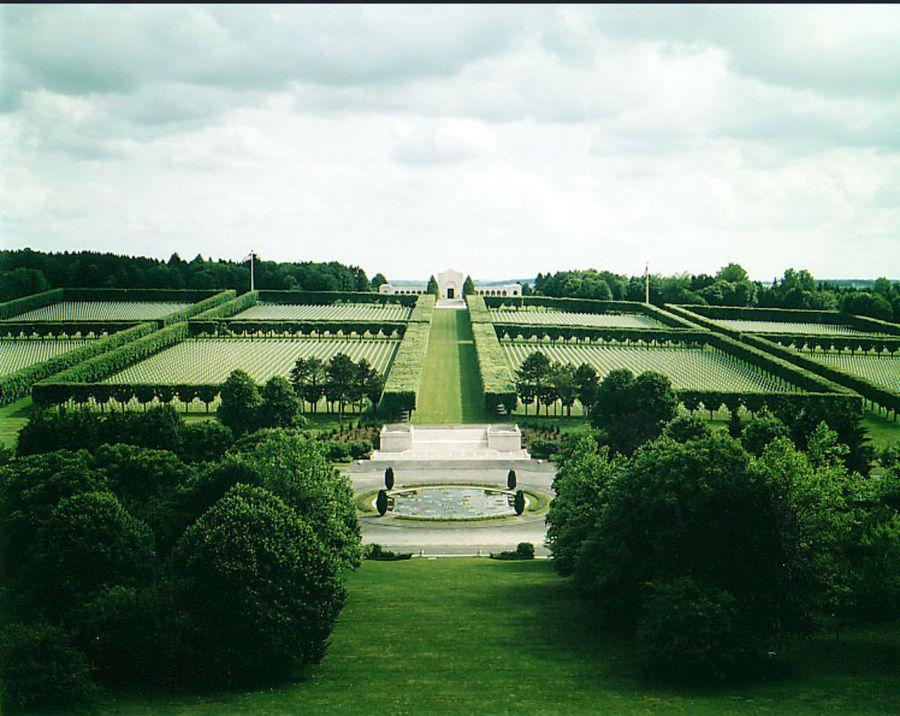 Le cimetière américain Meuse-Argonne