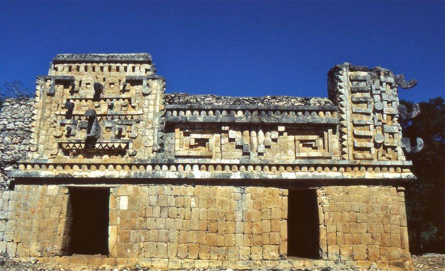 Xlapak et ses ruines mayas, dans le Yucatan.