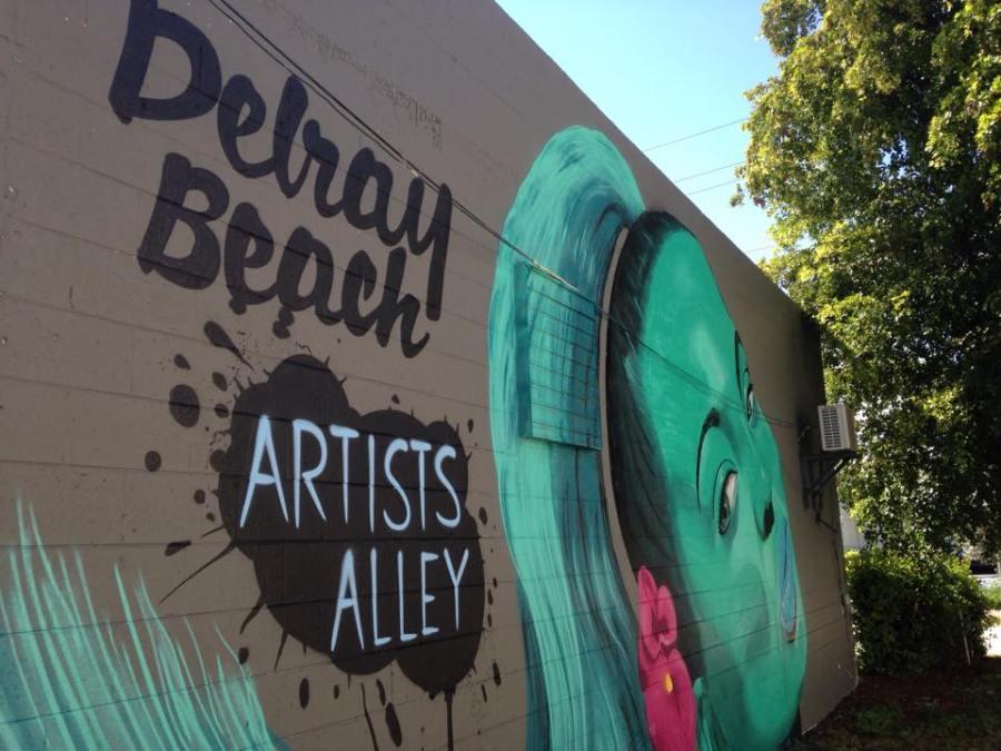 Artists Alley à Delray Beach