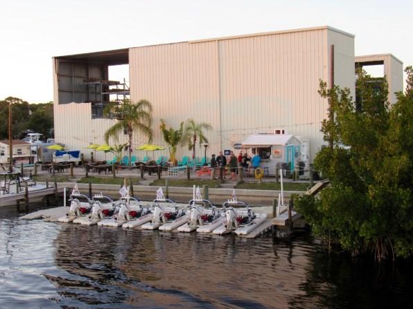 Marina et bar à Englewood (Floride)