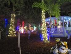 Les décorations de Noël à la Hoffman's Chocolates Factory de Lake Worth, près de West Palm Beach
