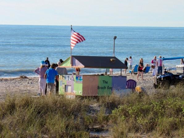 La plage d'Englewood Beach en Floride