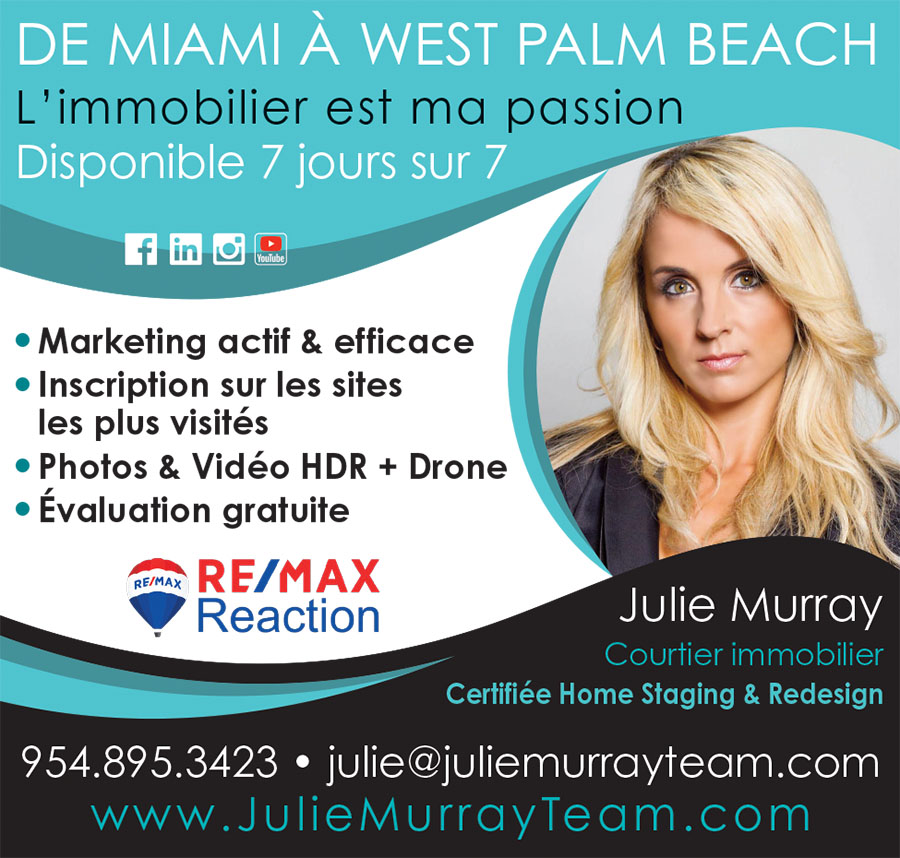 Julie Murray Agent et courtier Immobilier