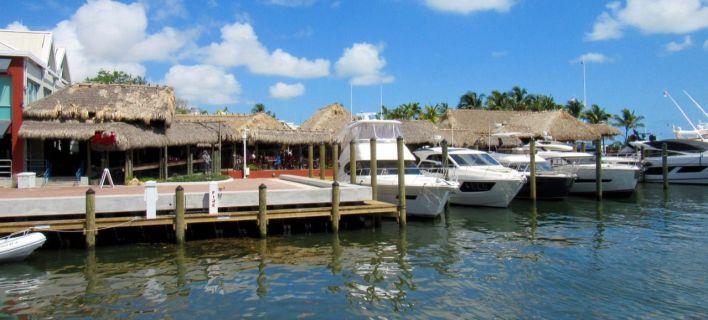 Le restaurant Monty's à Coconut Grove