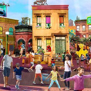 SeaWorld d'Orlando : Ouverture d'une Sesame Street