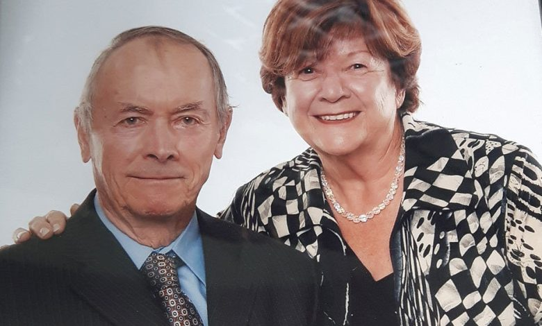 Rita Fortin et Marc-Aurèle Gagné