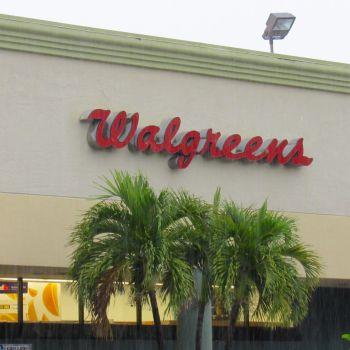Un drugstore Walgreens, c'est à dire une pharmacie aux Etats-Unis