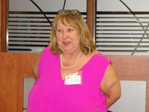 Louise Lauzon de la Chambre de Comemrce de Montréal durant la 14e mission commerciale de la Chambre Canada-Floride