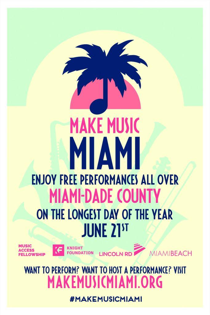 Make Music Miami : la fête de la musique à Miami