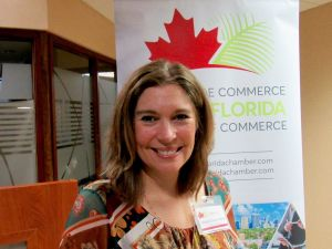 Marie-Claude Péthel, présidente de la CCCF pour le Canada.