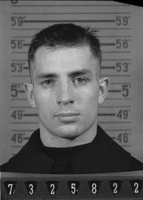 Jack Kerouac au moment de son engagement dans la réserve navale en 1943.