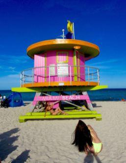 Plage de Lummus Park à South Beach / Miami Beach