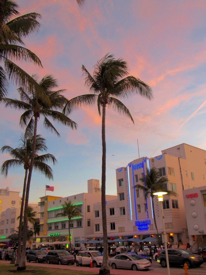 Ocean Drive à South Beach / Miami Beach