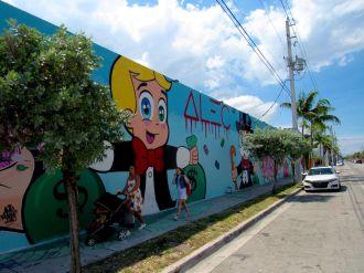 Quartier de Wynwood, l'art district de Miami