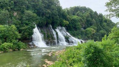 Photo of Rock Island : d'impressionnantes chutes d'eau qui sortent de la forêt dans le Tennessee