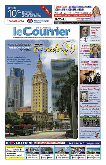 Le Courrier de Floride de Septembre 2019