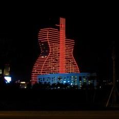 Guitare hotel du Hard Rock de Hollywood : à quoi ça ressemble avant l'ouverture
