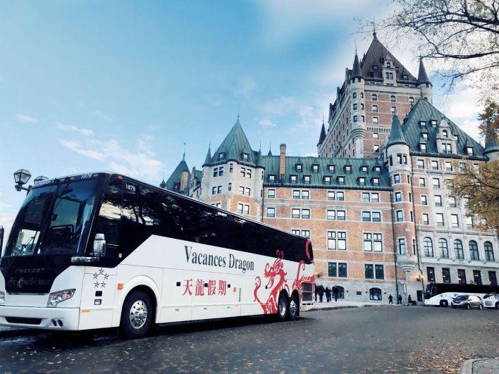 Autobus La Québécoise - Vacances Dragon