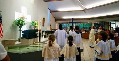 Les messes en français à Miami