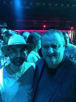Kendji Girac avec Franck Bondrille