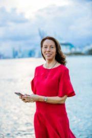 Elisabeth Gazay, présidente du comité CCEF