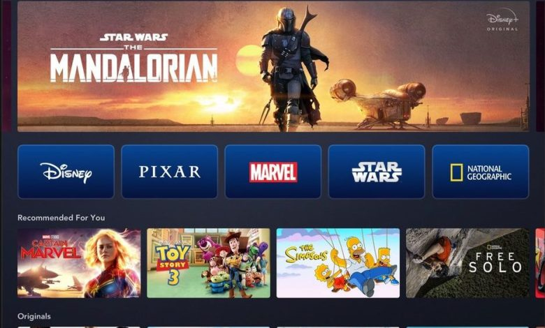 Disney+ The Mandalorian