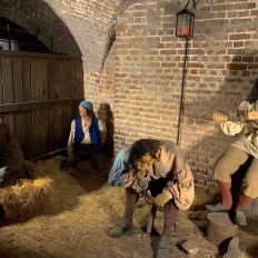 Old exchange an Provost DungeonCharleston : la bourse (et cachot) de Charleston.