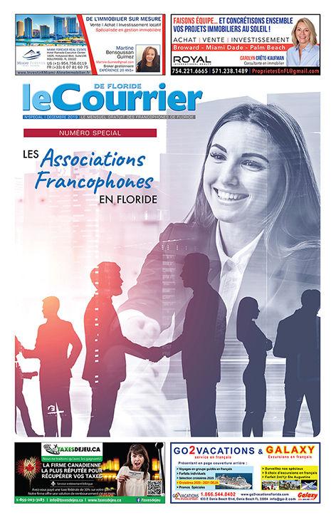 Le Courrier de Floride / Spécial Associations françaises et francophones