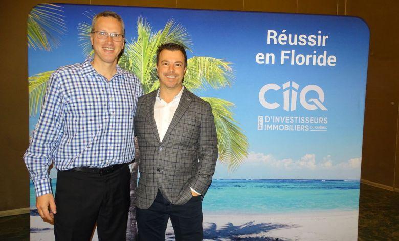 Yvan Cournoyer et Nicolas Lapointe Réussir en Floride CIIQ Du 9 au 13 décembre 2019