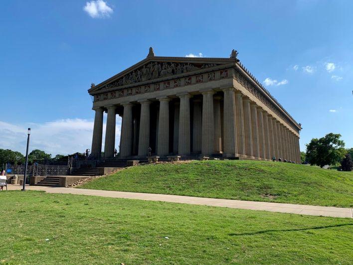 Le Parthénon de Nashville.