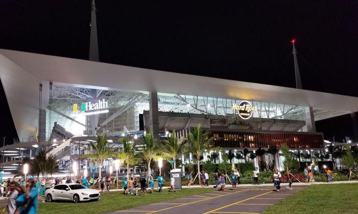 Le Hard Rock Stadium de Miami Garden