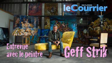 Photo of Rencontre avec Geff Strik, peintre français à St Petersburg (Floride) – Vidéo