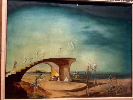 """""""Le pont cassé et le rêve"""", au Salvador Dali Museum de St Petersburg"""