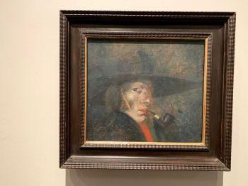 Autoportrait de Salvador Dalí (1921) au Museum de St Petersburg en Floride