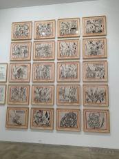 Oeuvres de Keith Haring au Rubell Museum de Miami (collection privée d'art contemporain)